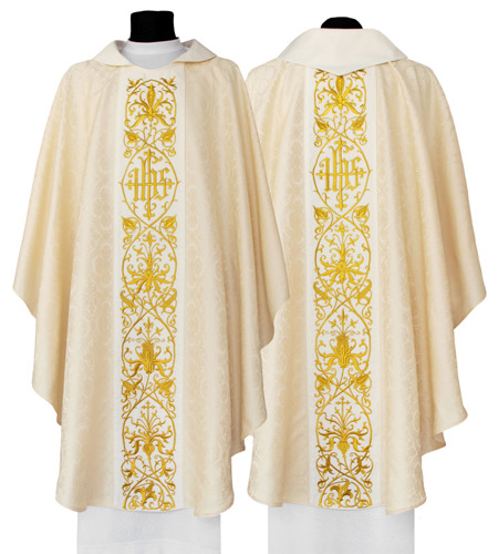 Gothic Chasuble model 630