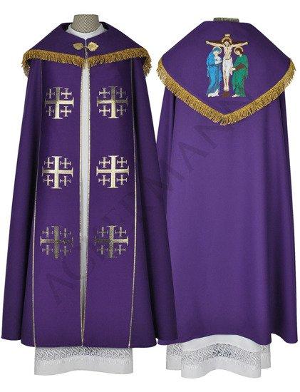 Gothic Cope Crucifixion model 009