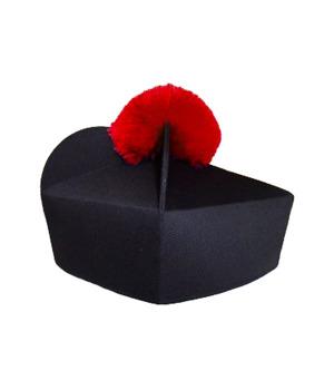 Biretta 3 corners with pom-pom