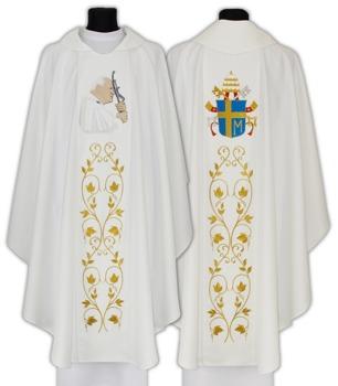 Chasuble with Pope John Paul II model 568