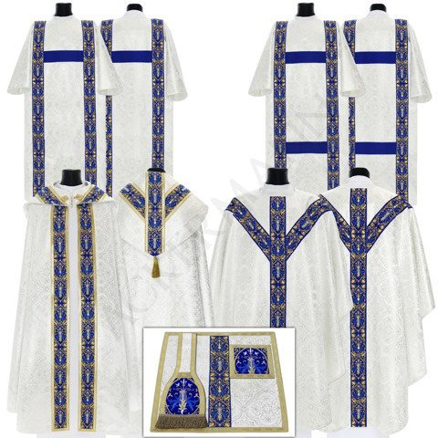 Silver Set of Semi Gothic style model 637