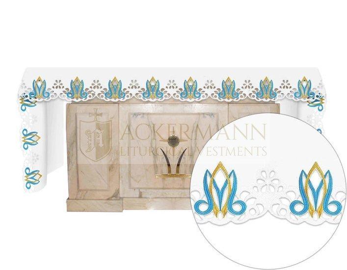 Altar cloth Marian