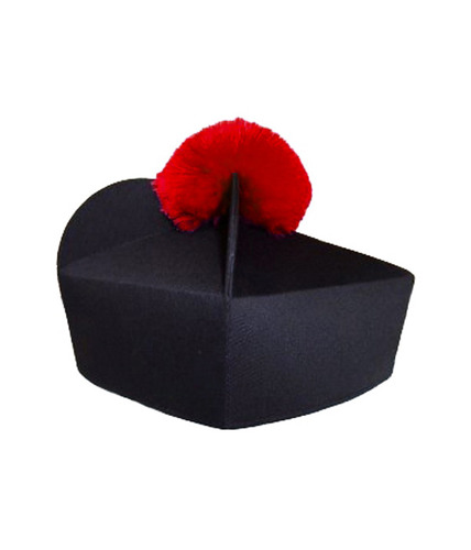 Biretta 3 corners with pom-pom