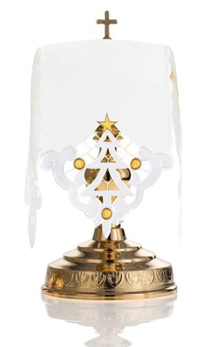 Ciborium veil Christmas tree