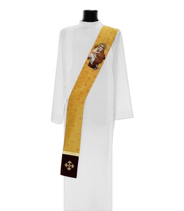Deacon Stole Saint Anthony of Padua model 416