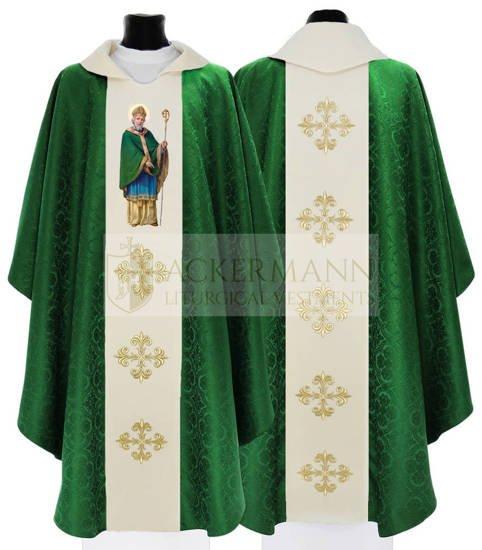Gothic Chasuble Saint Patrick model 407
