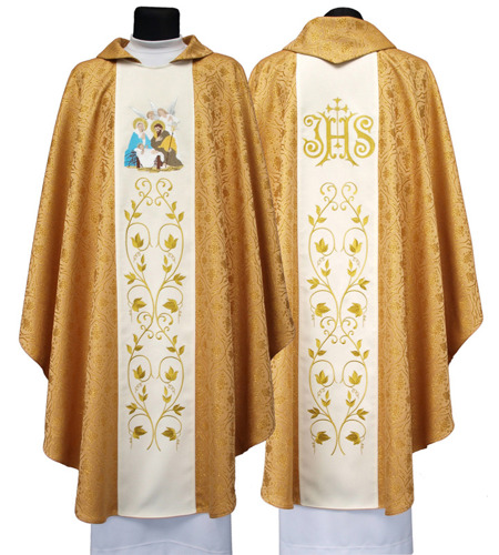 Gothic Chasuble for Christmas model 613