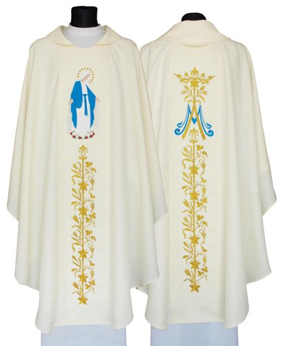 Marian Chasuble Our Lady of Grace model 629