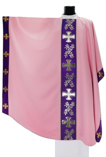 Monastic Chasuble Maltese crosses model 006