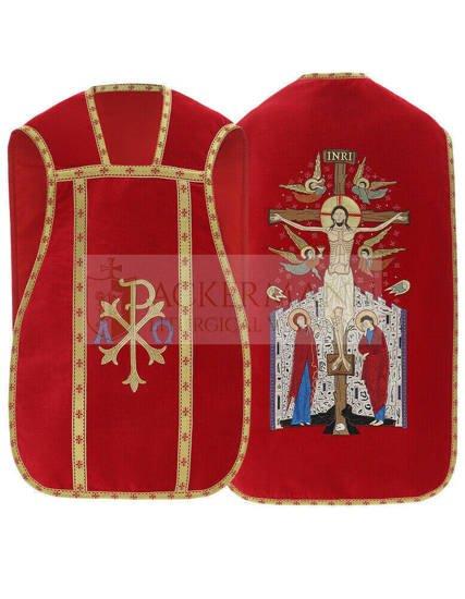 Roman Chasuble velvet model 457