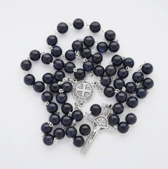 Rosary with Jasper stones
