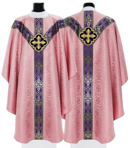 Semi Gothic Chasuble model 210