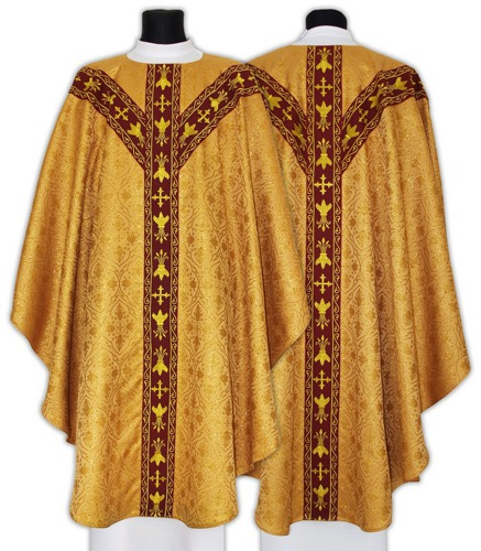 Semi Gothic Chasuble model 660