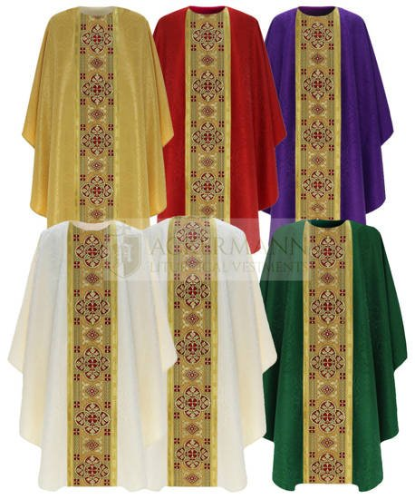 Set of Gothic Chasubles model 804