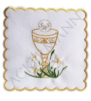 Pall Chalice with Lilies