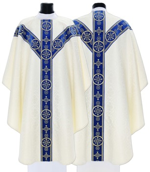 Semi Gothic Chasuble model 579