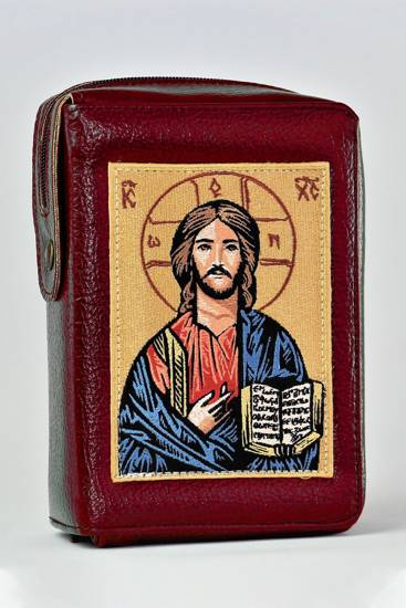 Cover für die Bibel mit Stickerei