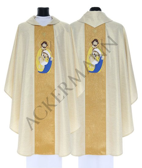 Gothic Chasuble Christmas model 762