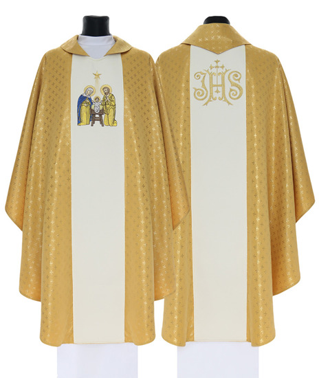 Gothic Chasuble Christmas model 760