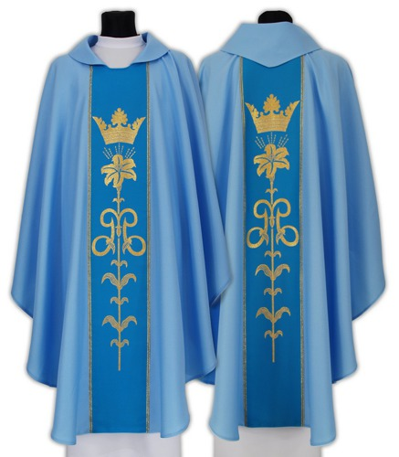 Marian Gothic Chasuble model 080