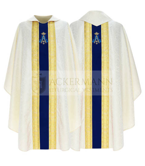 Marian Gothic Chasuble model 767