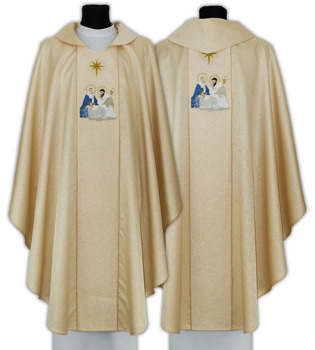 Gothic Chasuble for Christmas model 664