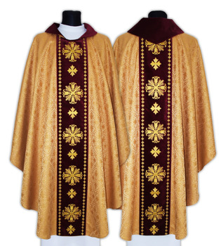 Gothic Chasuble model 632
